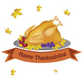 Food for thanksgiving day — Stock Vector