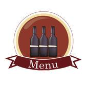 Menu for drinks — Stock Vector