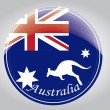 Australia flag — Stock Vector
