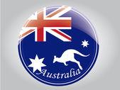 澳大利亚国旗 — 图库矢量图片