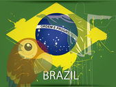Brasile — Vettoriale Stock