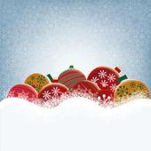 Christmas' balls — Stock vektor