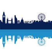Blue london — Vector de stock