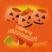Happy halloween — Vector de stock