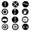 Twelve icons — Image vectorielle
