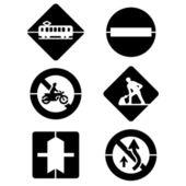 交通信号 — 图库矢量图片