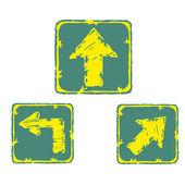 Arrow signals — Vector de stock