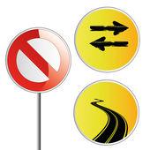 Traffic signals — Vector de stock