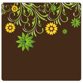 I fiori — Vettoriale Stock