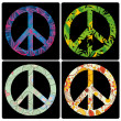 Peace symbols — Stock Vector #36887873