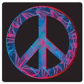 平和のシンボル — ストックベクタ