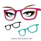 Glasses — Stock Vector