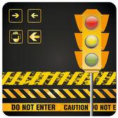 Traffic light — Stock Vector