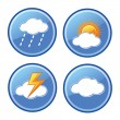 Weather icons — Stock Vector #37461379