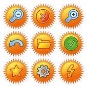 ícones — Vetor de Stock