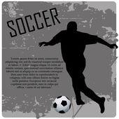 サッカー — ストックベクタ