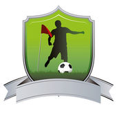 Soccer — Stockvektor