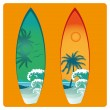 Surfboard — Stock Vector #37475893