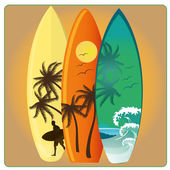 Surf — Stock Vector