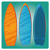Surf — Vector de stock