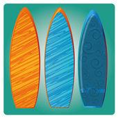 Surf — Stock Vector