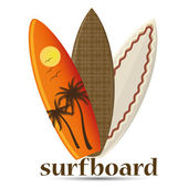 Surf — Vettoriale Stock