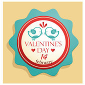 Valentine day — Stock Vector