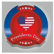 President day — Stock Vector