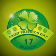 Stock Vector: St patrick day