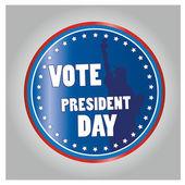 总统的一天 — 图库矢量图片