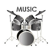 Music — Vector de stock