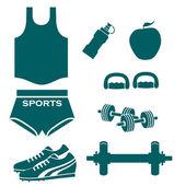 Fitness — Stock Vector
