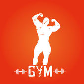 Gimnasio — Vector de stock