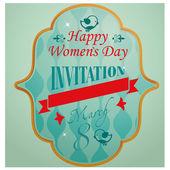 Women's day — Stock Vector