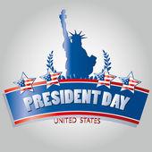 President day — Stock Vector
