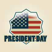 President's day — Stock Vector