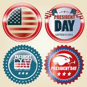 President's day — Stock Vector
