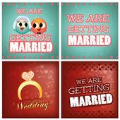 婚礼 — 图库矢量图片