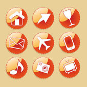 Iconography — Vector de stock
