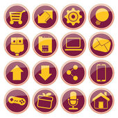 Iconography — Stock Vector