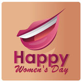 Women's day — Stock Vector