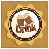 Beverages — Stock vektor