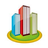 Buildings — Stok Vektör