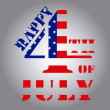 4th of July — Stock Vector #48962269