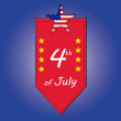 4th of July — Stock Vector #48962611