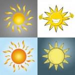Suns — Stock Vector #49754805