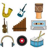 Musical instruments — Stock vektor