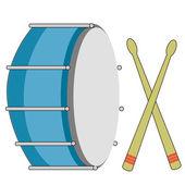 Strumento musicale — Vettoriale Stock