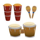 Musical instruments — Stok Vektör