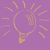 Lightbulb — Stock Vector